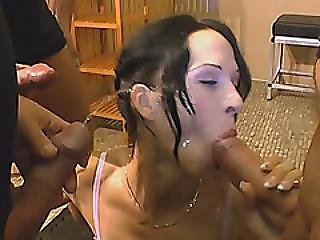 European Babe Gets Fucked Hard After Getting Pissed On