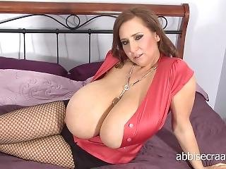 The Most Stunning And Biggest Titted Abbi Secra