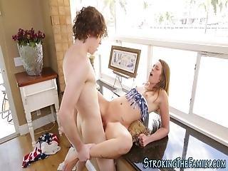 Teen Stepsister Spermed
