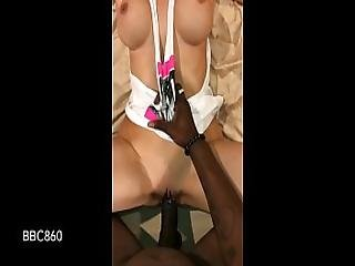 Big Tit Hot Wife Gets Pussy Streched By Huge Bbc