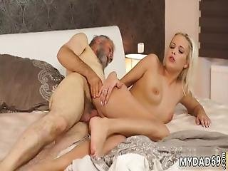 Nasty Teen Old Man Surprise Your Girlpal And She Will Smash With Your Dad