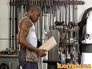 Bottom Dude Anally Railed In The Hardware Store By Hung Homo This Homo Knows How To Reward His Best Worker!