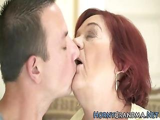 Granny Gets Face And Mouth Spermed Sucking And Riding Cock
