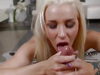 Extreme Deepthroat With Seductively Hot Babe
