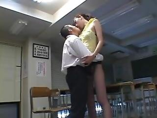 Tall Asian Kissing