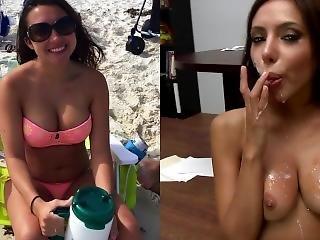 Hayley Novich Naughty Little Slut Begs For Cum On Her Pretty Little Face