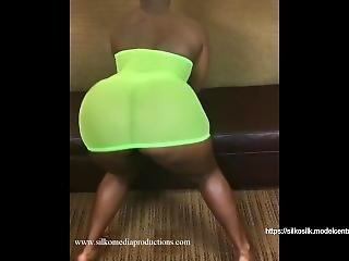 Ebony Big Booty Twerking