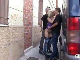 Amateur Guy Fucks Spanish Porn Star Nora Barcelona In A Hot Mmf Threesome