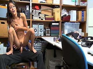 The Lp Officer Fucks Jasmine Greys Tight Pussy On Top