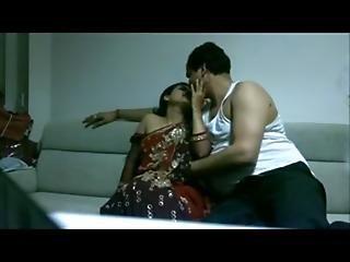 Sameera Aunty Kiss Boob Press Sucking N Fucking By Boss