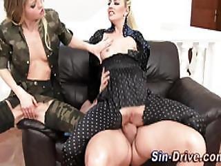 Glam Sluts Get Cummed