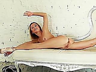 Cute Flexi Teen Stretching Her Body