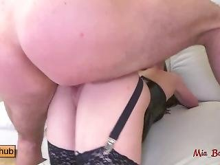 Horny College Teen Gets Dominated And Anal Fucked Rough. Mia Bandini