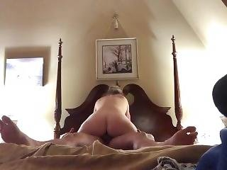 Riding My Husband's Cock Before Bed