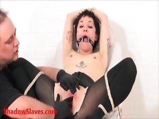asiatisch, bdsm, arzt, untersuchung, fetisch, harter porno, medizinisch, pierced, sklave