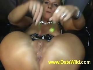 Www.datewild.com - Mature Milf Masturbate Gets Fuck By Lollipop So Hot