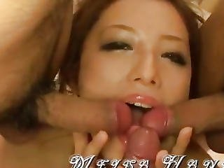 Meisa Hanai Blows And Strokes Shlong In Eager Scenes
