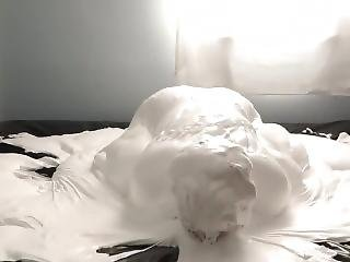 Fluffy White Slime