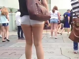 Short Shorts- Exposed Ass Cheeks