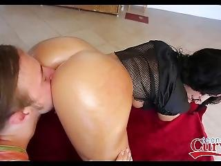 Big Ass Latina Teen Ava Alvares Orgasms While Getting Fucked By Big Cock