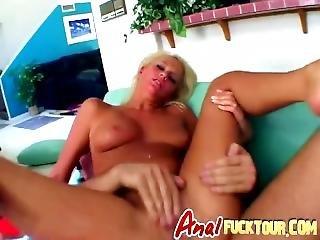anal, blondine, arsch, schwanz, milf, monsterschwanz, eng