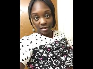 Milf Ebony Nurse Strips On Clock