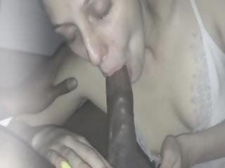 Kinky White Nymph Sucks Bbc Until It Spits In Her Face Part 4