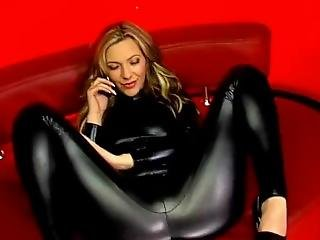 Compilation Of Telephone Prostitutes Servicing Their Customers In Leggings