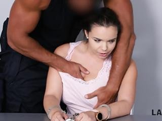 Law4k. Big-breasted Sofia Lee Thief With Wonderful Ass Gets Banged Hard