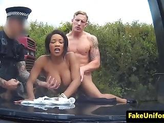Ebony Deputy Spitroasted Outdoors In Trio
