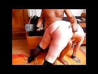 Der Sklavin Z Wird Der Arsch Versohlt