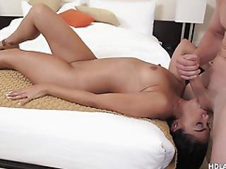 Latina Gets Her Pussy Pounded Many Times
