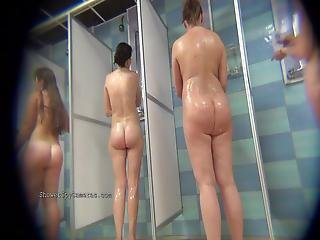 Compilation Of Voyeur Movies From The Public Showers From Showerspycamerascom
