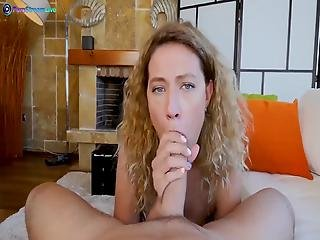 Curly Haired Stasy Rivera Cumming Hard In Anal Sex