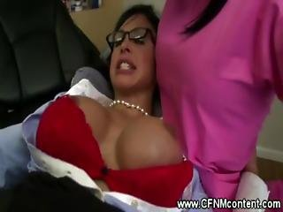 Lucky Patient Gets Fucked In Dentist Chair