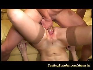 Cute Girls First Porn Movie Casting