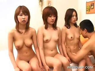 Japanese Teen Seductresses Get Bodies Licked