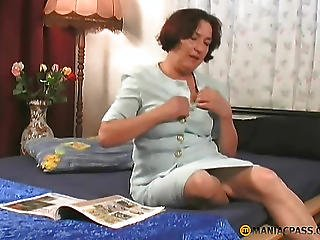 Woman Paw His Gorgeous Breasts