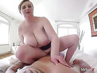 Pov Fuck With Busty Bbw Milf