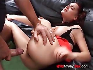 Flexi Cum Sweeting Teen Banged