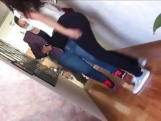 Teen Ass In Spandex