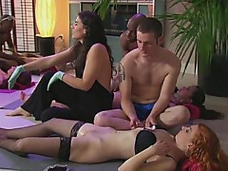 Swinger Finger Party With Lots Of Moaning