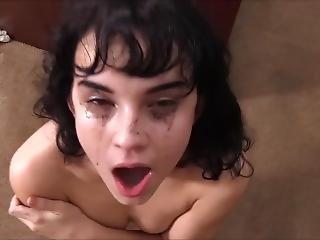 肛門の, ベビー, 奥部屋, フェラチオ, キャスティング, カウチ, 精液をショット, 舐める