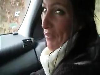 Sweater Milf Car Blowjob
