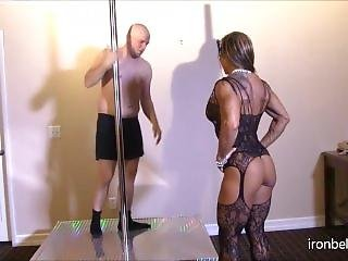Fbb Mask Fishnet Pole Domination