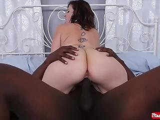 Watch A Big Black Cock Stuff A White Milf Full Of Hot Cream - Mrs. Creampie
