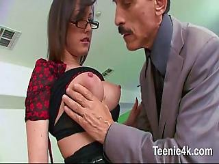 Tiny Wet Teen Cunt So Wet Gets Fucked By Stepdad Big Cock Till Facial