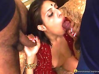 Girl Fucks Guy On The Couch