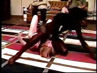 Černé lesbičky catfight