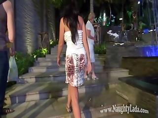 έκθεση, Flashing, Milf, Naughty, γυμνό, δημόσια, φούστα, Upskirt